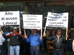 PEROTEÑOS EXIGEN DESTITUCIÓN DE SU ALCALDE