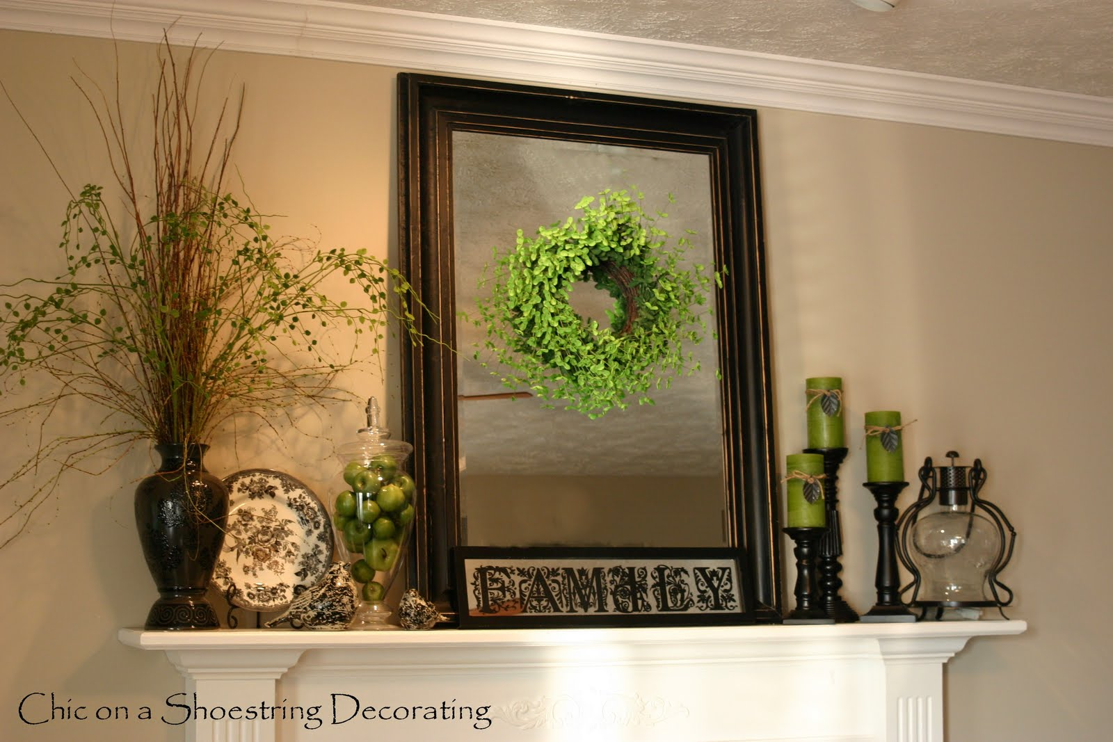 Chic On A Shoestring Decorating Adding Pops Of Spring