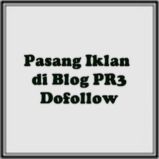 pasang iklan di blog pr3