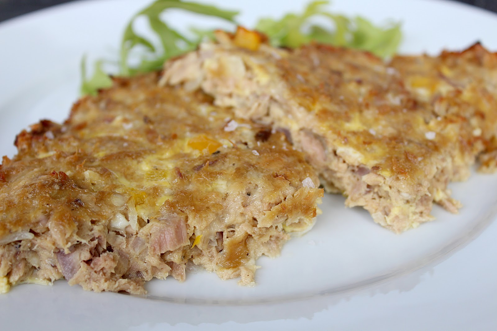 Healthy recipes, tuna bake