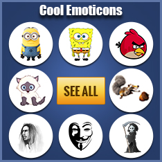 New and Cool Facebook Emoticons