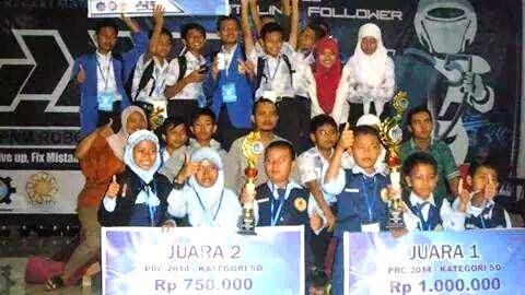SDMT Juarai Robotika Se-Jatim di PNM Robotic Competition