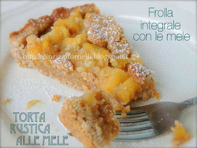 Cinzia ai fornelli crostata di mele integrale for Crostata di mele