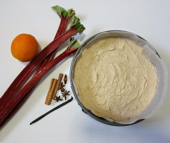 chai-spice cheesecake recipe gelatine-free-vegetarian