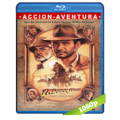 Indiana Jones 3 (1989) BRRip Full 1080p Audio Trial Latino-Castellano-Ingles 5.1