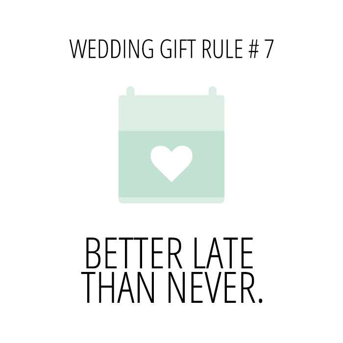 Aisle Always BLOG: Wedding Gift Rules!