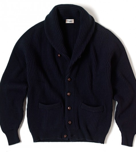 CARDIGAN SHAWL COLLAR