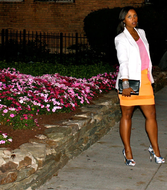 IMG 0004 - Orange You Jealous? I'm rockin a Brittany DeShields Original