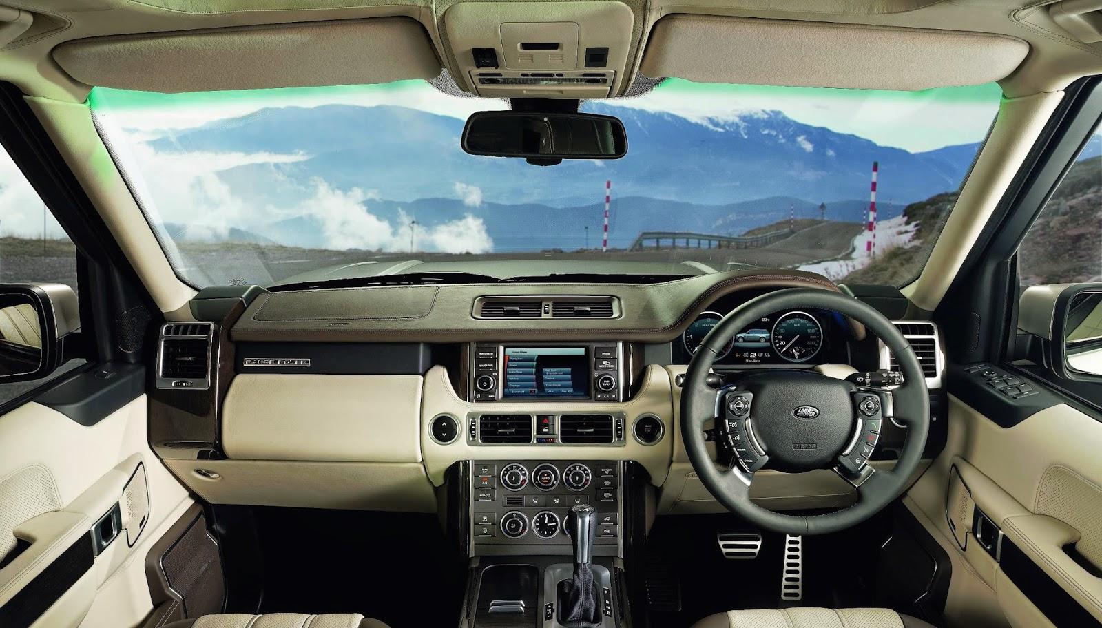 Land Rover Range Rover L322 interior