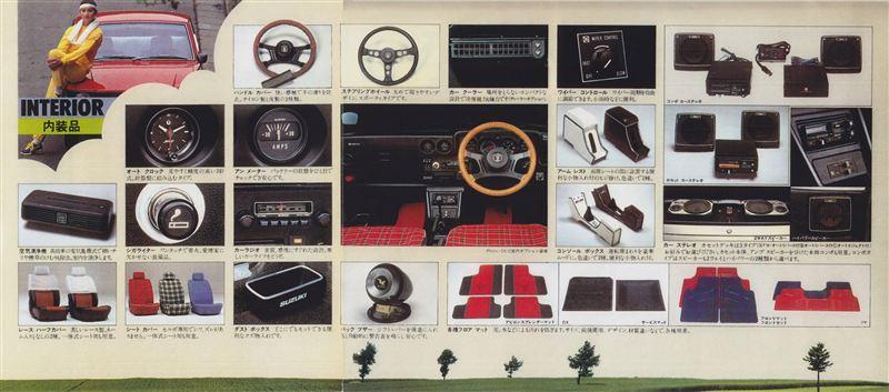 suzuki cervo ss20, wyposażenie starych samochodów, klasyki z lat 70, małe auta, JDM, kei car