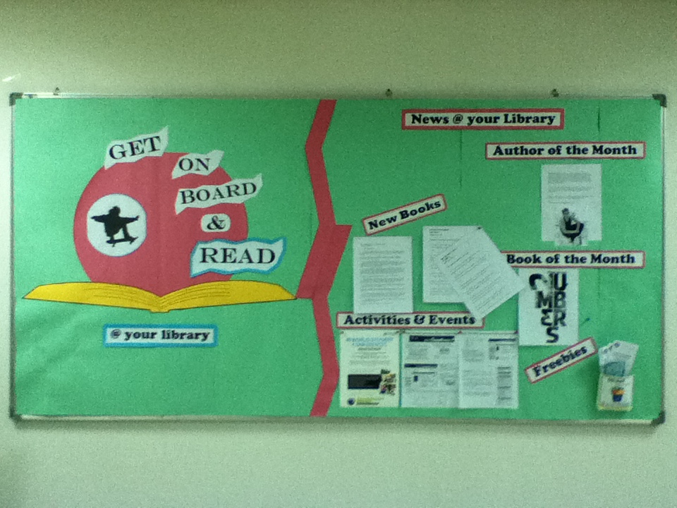School Librarian in Action: Library Bulletin Board Display