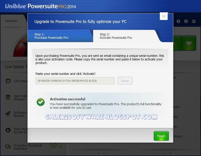 Download Free Software Powersuite Uniblue Serial ...
