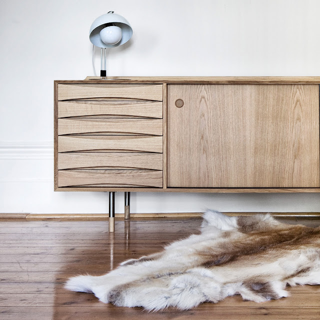 The Vodder #26 Sideboard   Only At Great Dane.
