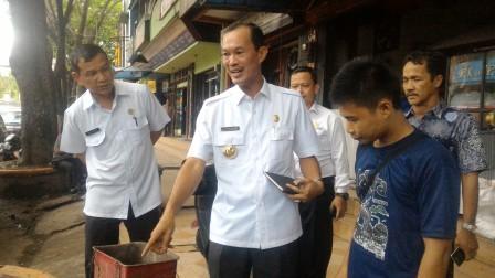 Harnojoyo Sidak Kebersihan Jalan Sudirman