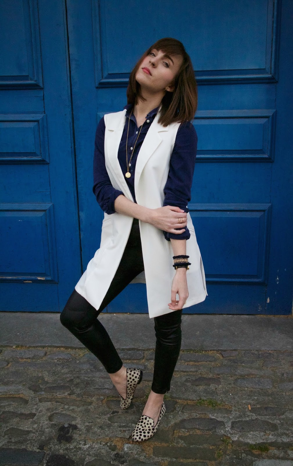 red herring sleeveless jacket debenhams blogger style pretty posh oh my gosh