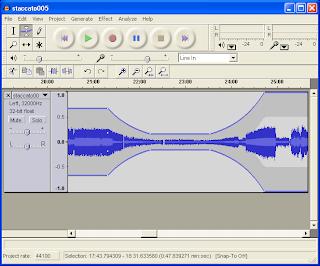 Audacity Sound Editor interface