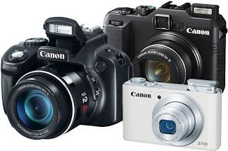 Harga Camera Digital CANON Terbaru 2013