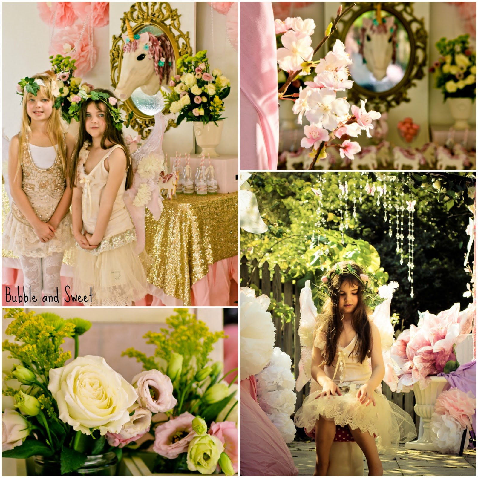 Bubble and Sweet: Sophie\'s 7th Birthday Unicorn Party - I believe in ...