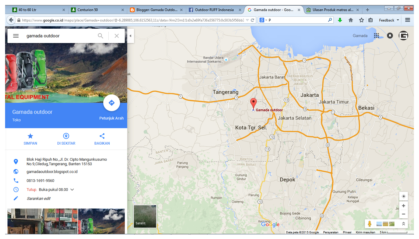 Gamada Adventure Sewa Rental Dan Penyewaan Peralatan Perlengkapan Alat Alat Outdoor Gear Equipment Ciledug Dki Jakarta Tangerang Ciputat Jakarta Barat Jakarta Selatan Bisa Cod Delivery