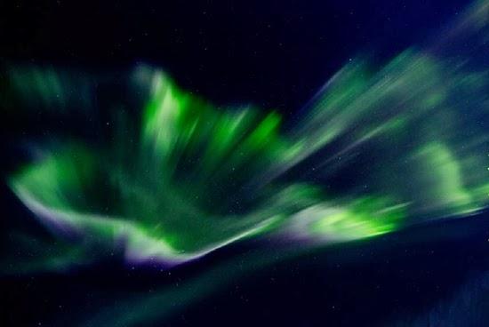 Badai Matahari Beruntun, Aurora-aurora Ini Terbentuk