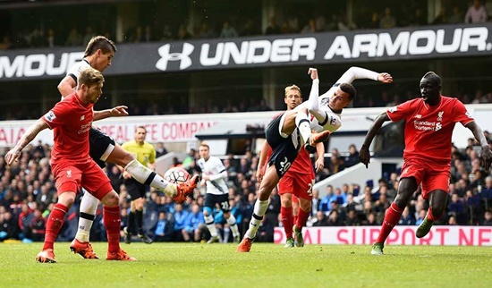 Tottenham 0 x 0 Liverpool - Premier League 2015/16