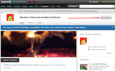 St. Louis Mulch and firewood on LinkedIn