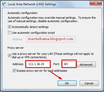 Cara Mengganti Proxy Pada Browser Internet Explorer