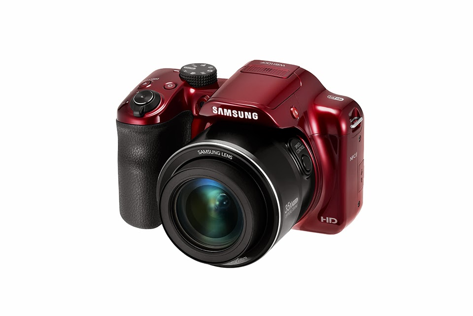 Samsung WB1100F, prosumer camera, digital image stabilization, superzoom camera, NFC, Wi-Fi, smartphone, tablet, new camera, new prosumer, creative filter, smart camera