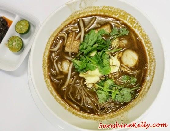 sarawak laksa, Ramadan Buffet, Chef's A List Malaysian Feast, Nook, Aloft Kuala Lumpur, malay dishes, malay food, malay traditional cuisine,