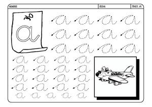 Para Repasar Las Letras Pincha En La Imagen Para Descargar E Imprimir