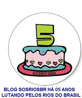 SOSRIOSBR COMPLETA 05 ANOS!