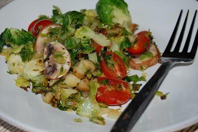 Brussels Sprout Saute | www.kettlercuisine.com