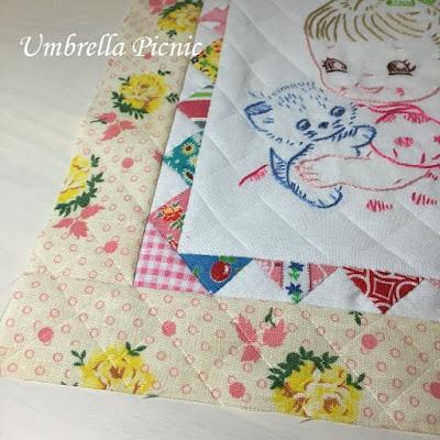 フィードサックと刺繍のミニタペ2_写真