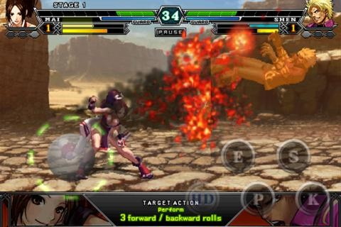 The King Of Fighters Android Hvga (480x320) Apk Full Download
