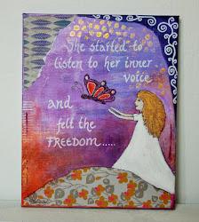 Malerier der taler til sjælen