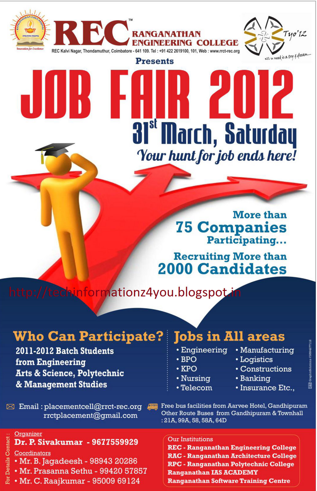 ranganathan engineering college organize rec job fair tyo 12 for rh techinformationz4you blogspot com Yazaki Wire Harness Yazaki UltiPro