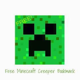 Cool stuff 2 do 4 kids free minecraft bookmark free minecraft bookmark maxwellsz