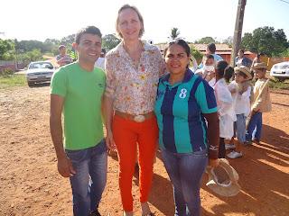 Nova gestão escolar do DNOCS se destaca em realização de evento ao Sete de setembro e conta com a presença da prefeita Ema Flora
