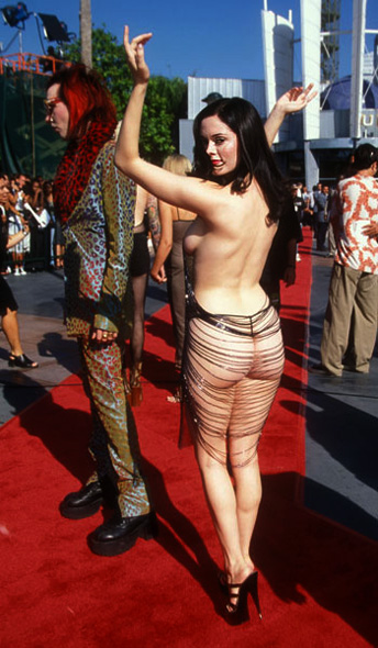 Medalist Mud King Xt. Rose Mcgowan Mtv Awards