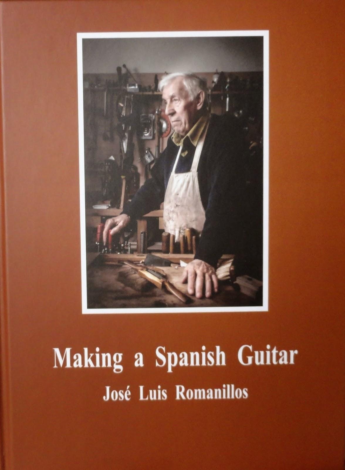 Making a spanish guitar nuevo libro de jos luis Procesos de cocina jose luis armendariz