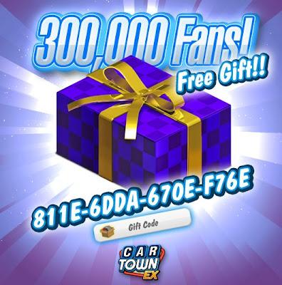 300.000 Fans Car Town EX