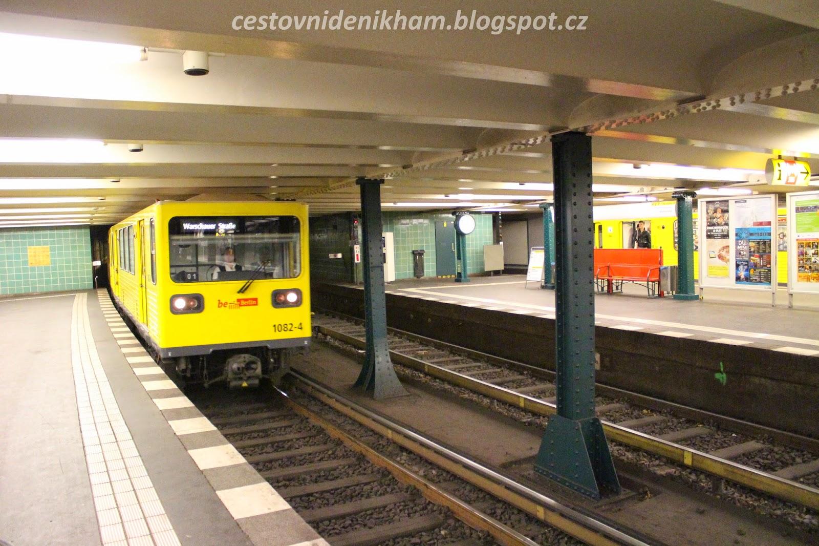 místní metro // local subway