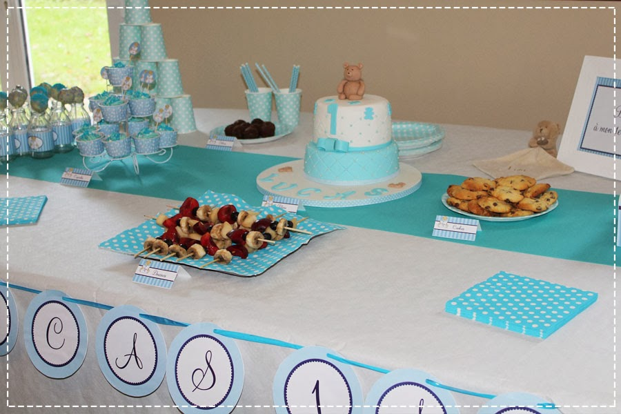 Decoration de table anniversaire 1 an - Decoration anniversaire 1 an ...