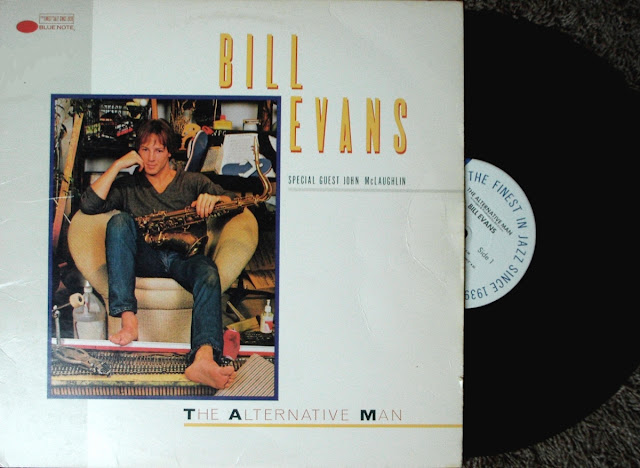 Bill Evans - The Alternative Man on Blue Note / Capitol 1985