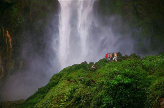 objek wisata Air Terjun Sipiso Piso 5