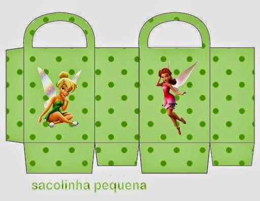 Bolsa De Ombro Tinker Bell : Tinkerbell free printable candy paper bag oh my fiesta