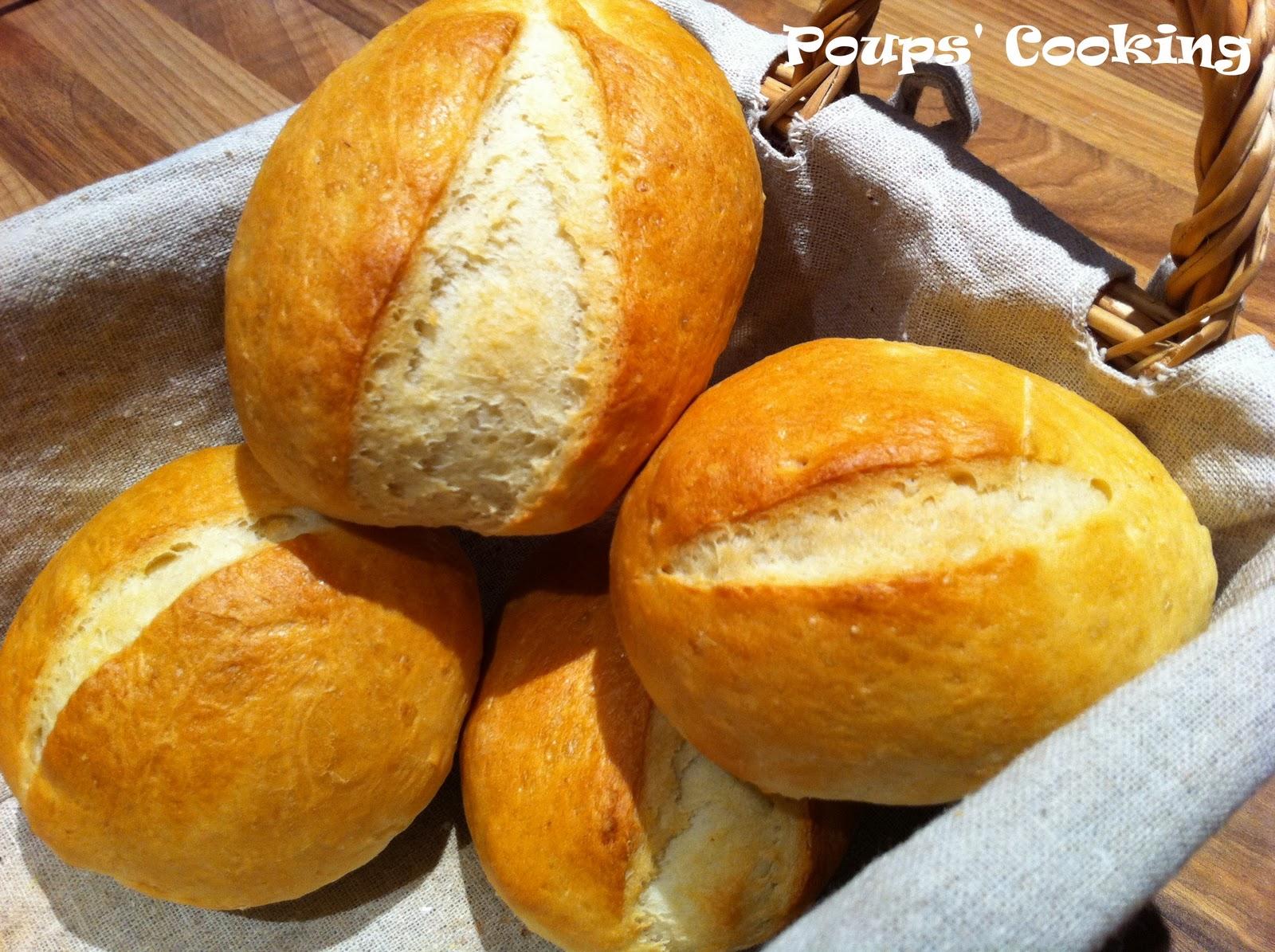 Poups 39 cooking recette rapide de petits pains - Recette petit pain au lait ...