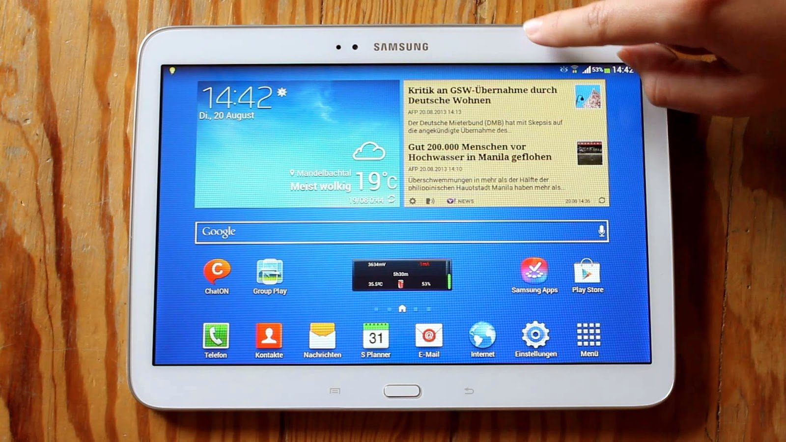 how to draw on galaxy tab 3