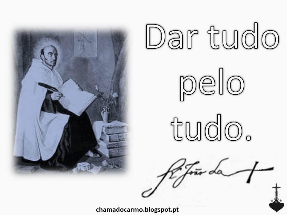 Chama Do Carmo Frase São João Da Cruz Viii