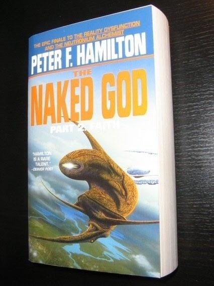 Sci-fi Bookworm: The Naked God - Part II: Faith